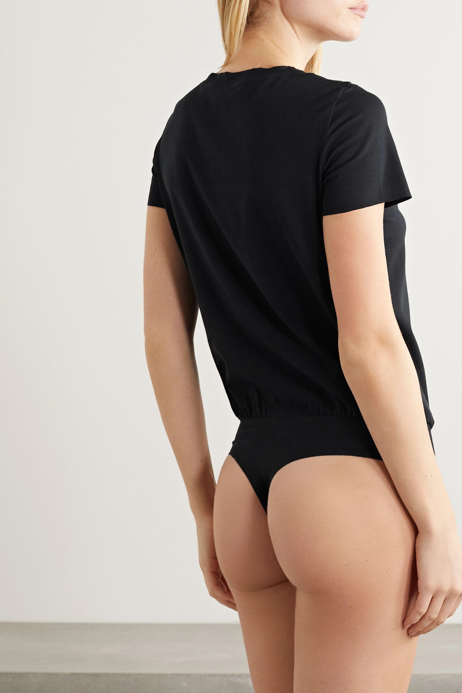 Commando Essential stretch-cotton jersey thong bodysuit