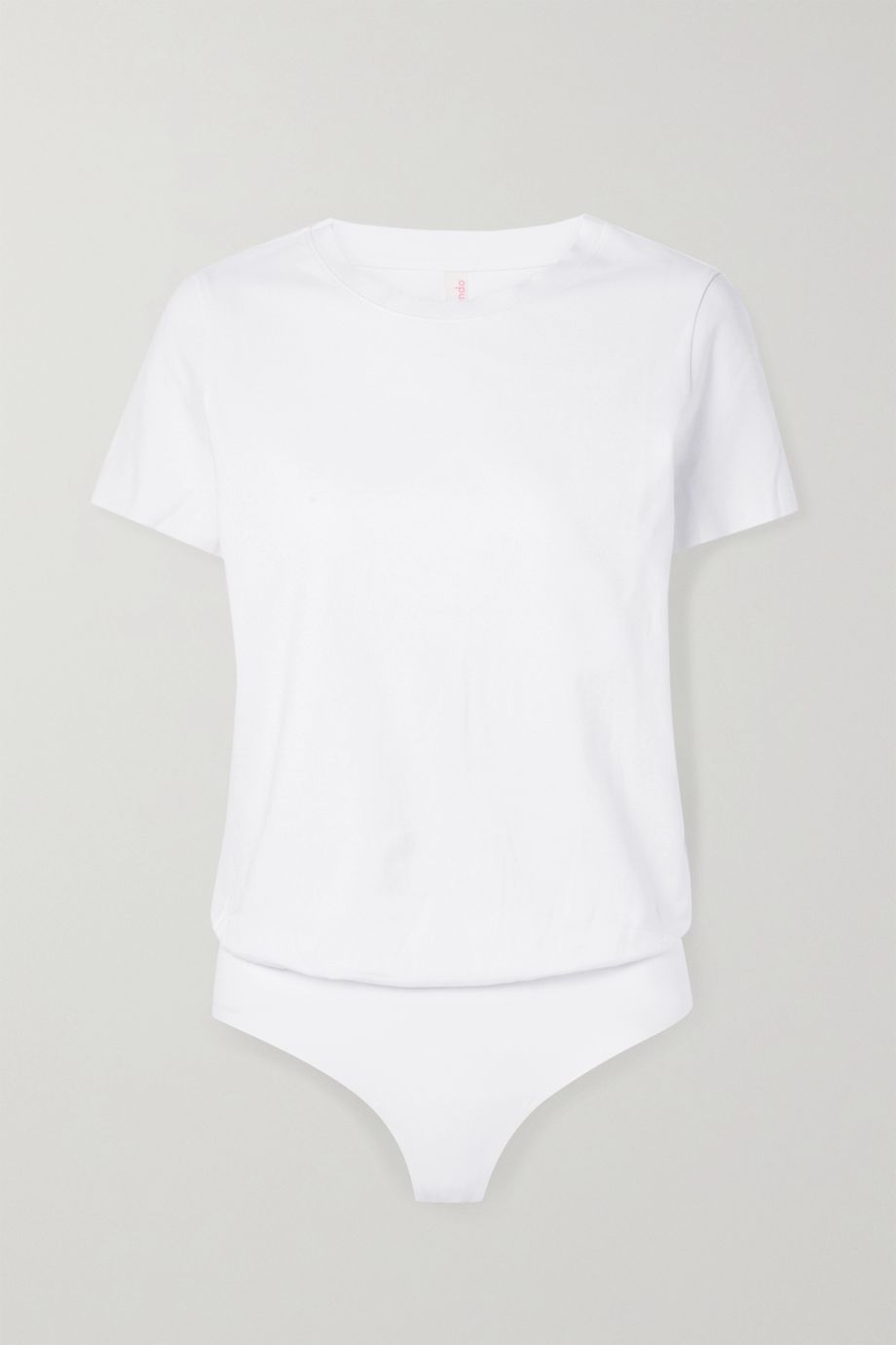 Commando Essential stretch-cotton jersey bodysuit
