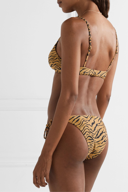 ViX Tiger-print bikini briefs