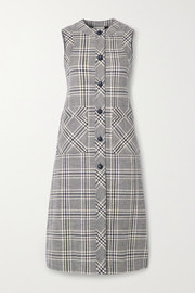 Gucci Checked wool-blend tweed vest