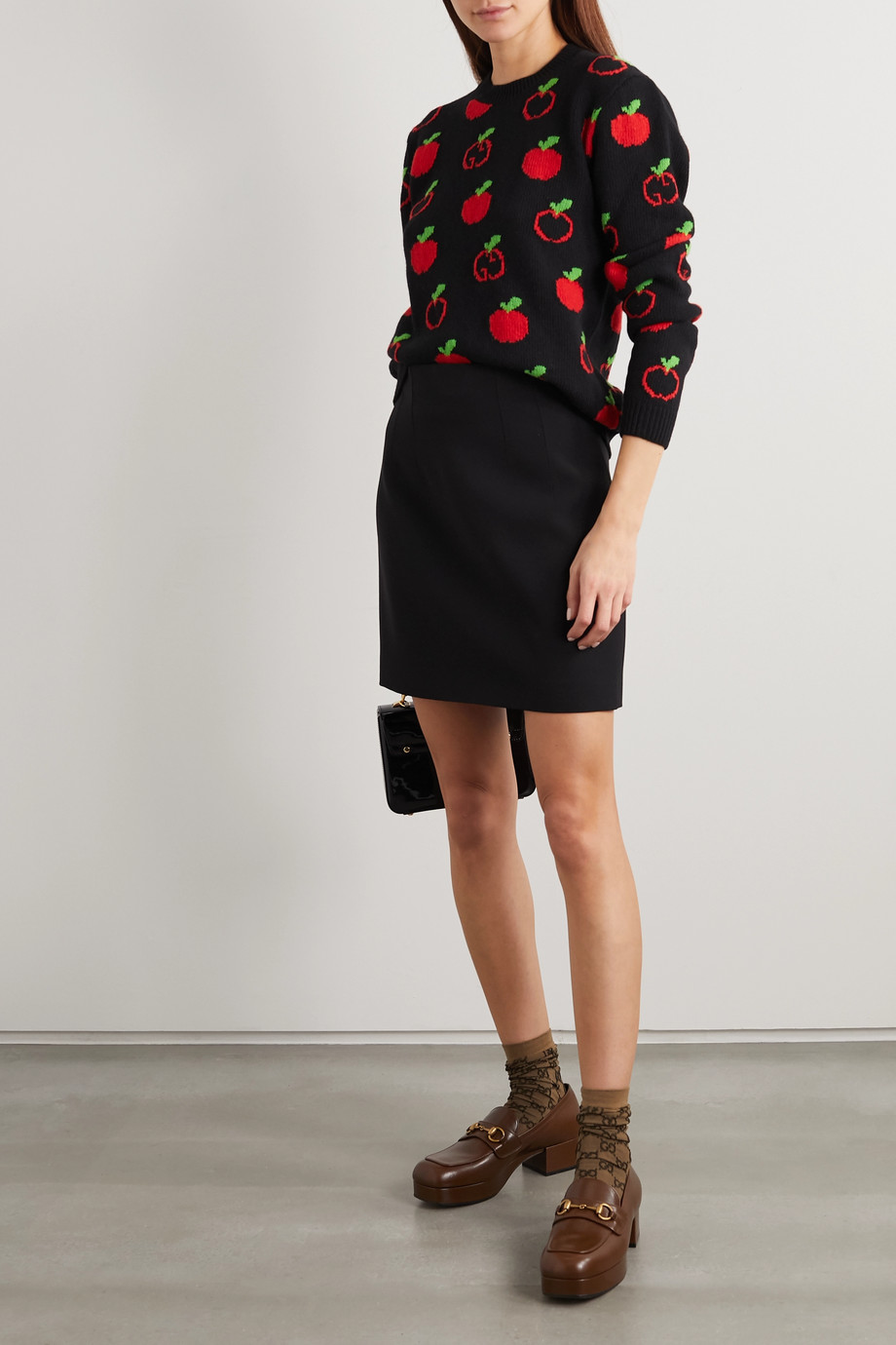 Gucci Wool-blend jacquard sweater