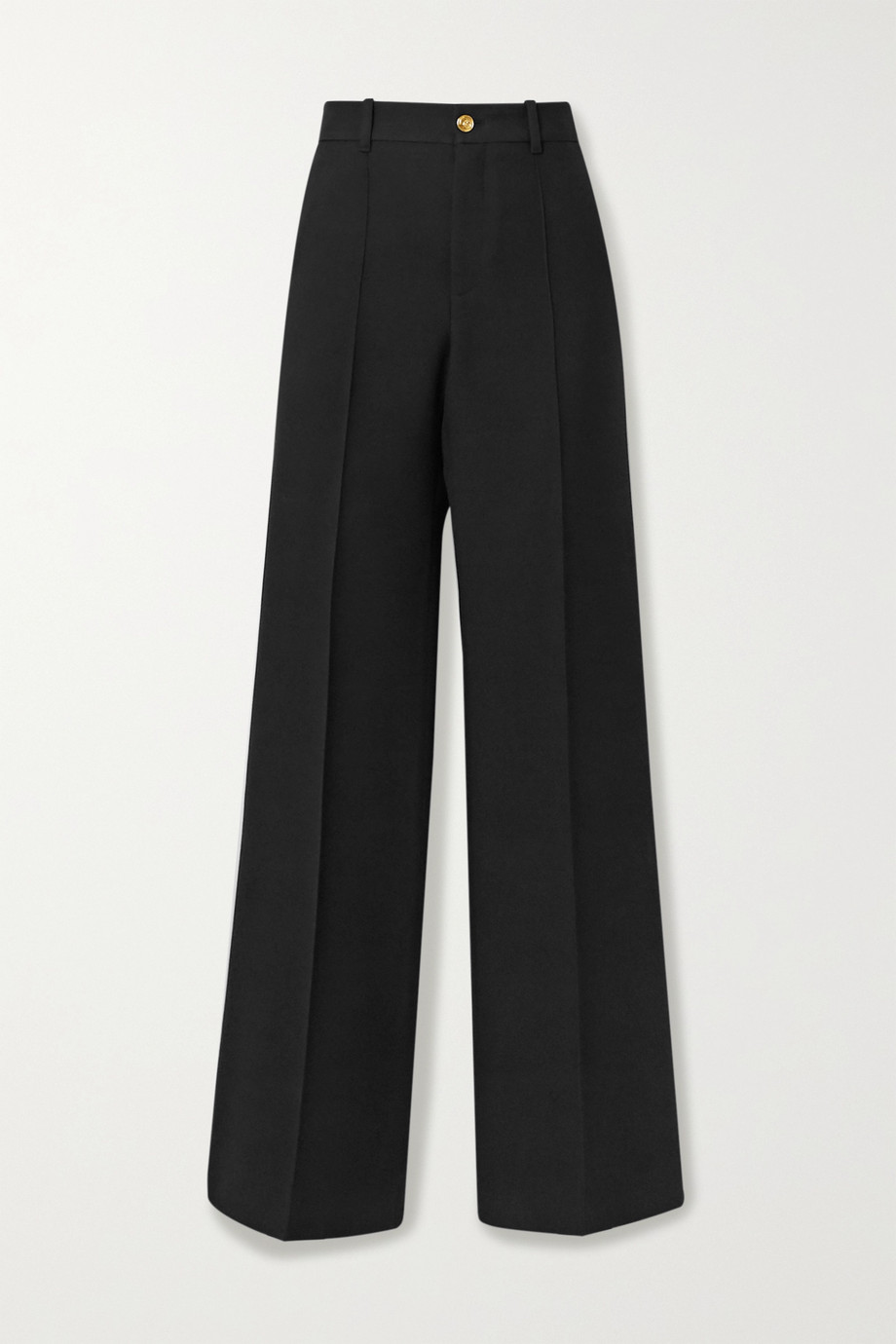 Gucci Silk and wool-blend wide-leg pants