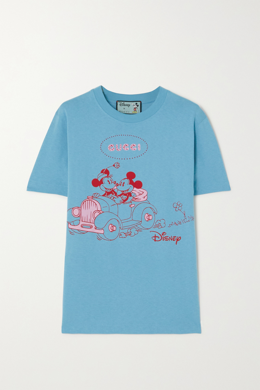 Gucci + Disney printed cotton-jersey T-shirt