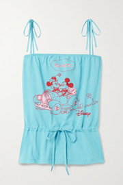 Gucci + Disney printed cotton-jersey camisole