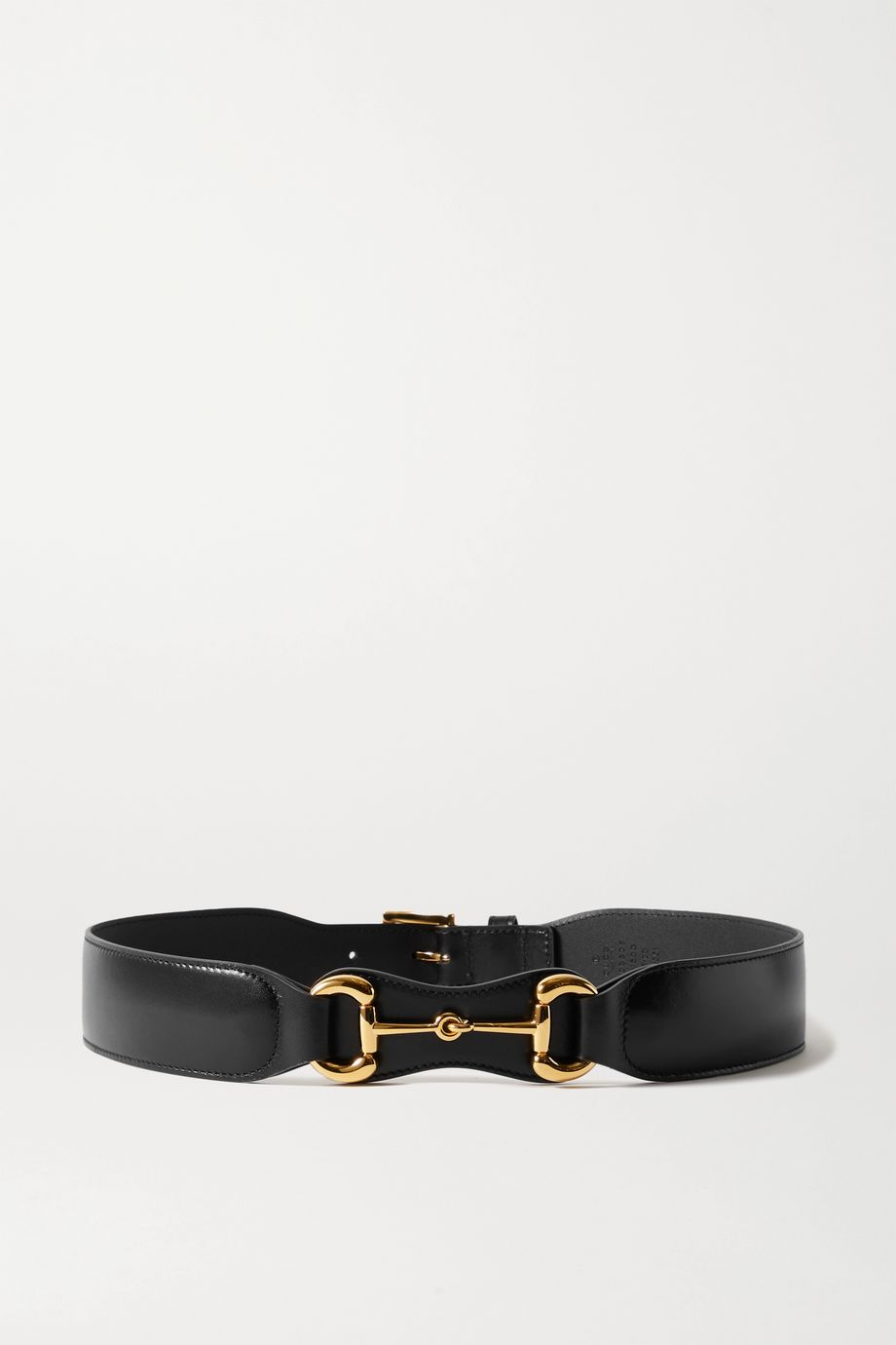 Gucci Horsebit-detailed leather belt