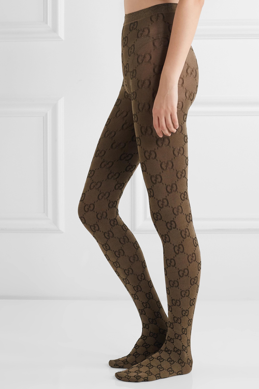 Gucci Jacquard-knit tights