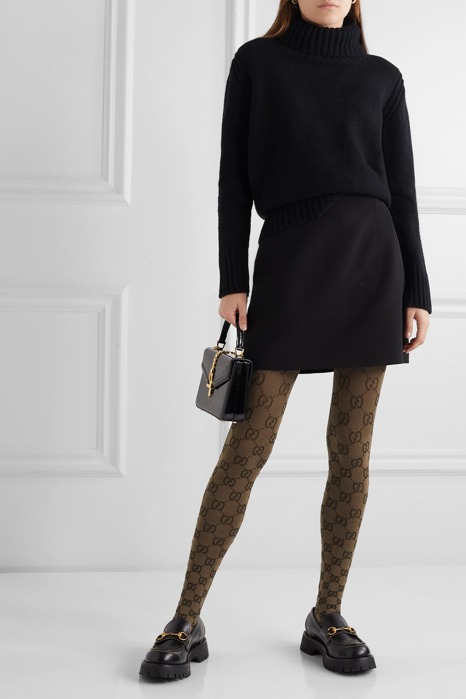 Gucci Jacquard-knit tights