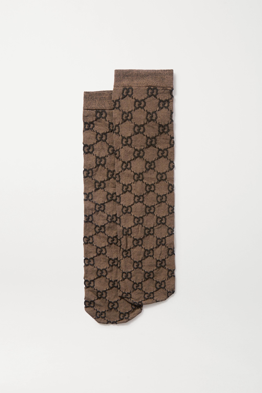 Gucci Jacquard-knit socks