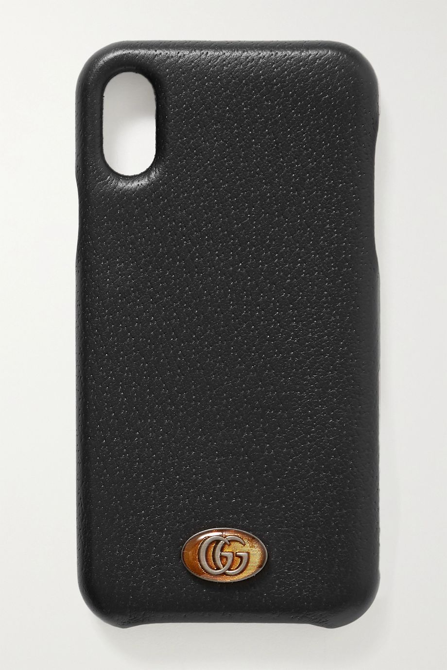 Gucci Embellished textured-leather iPhone X and XS case