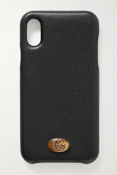 Embellished Textured Leather Iphone X And Xs Case
