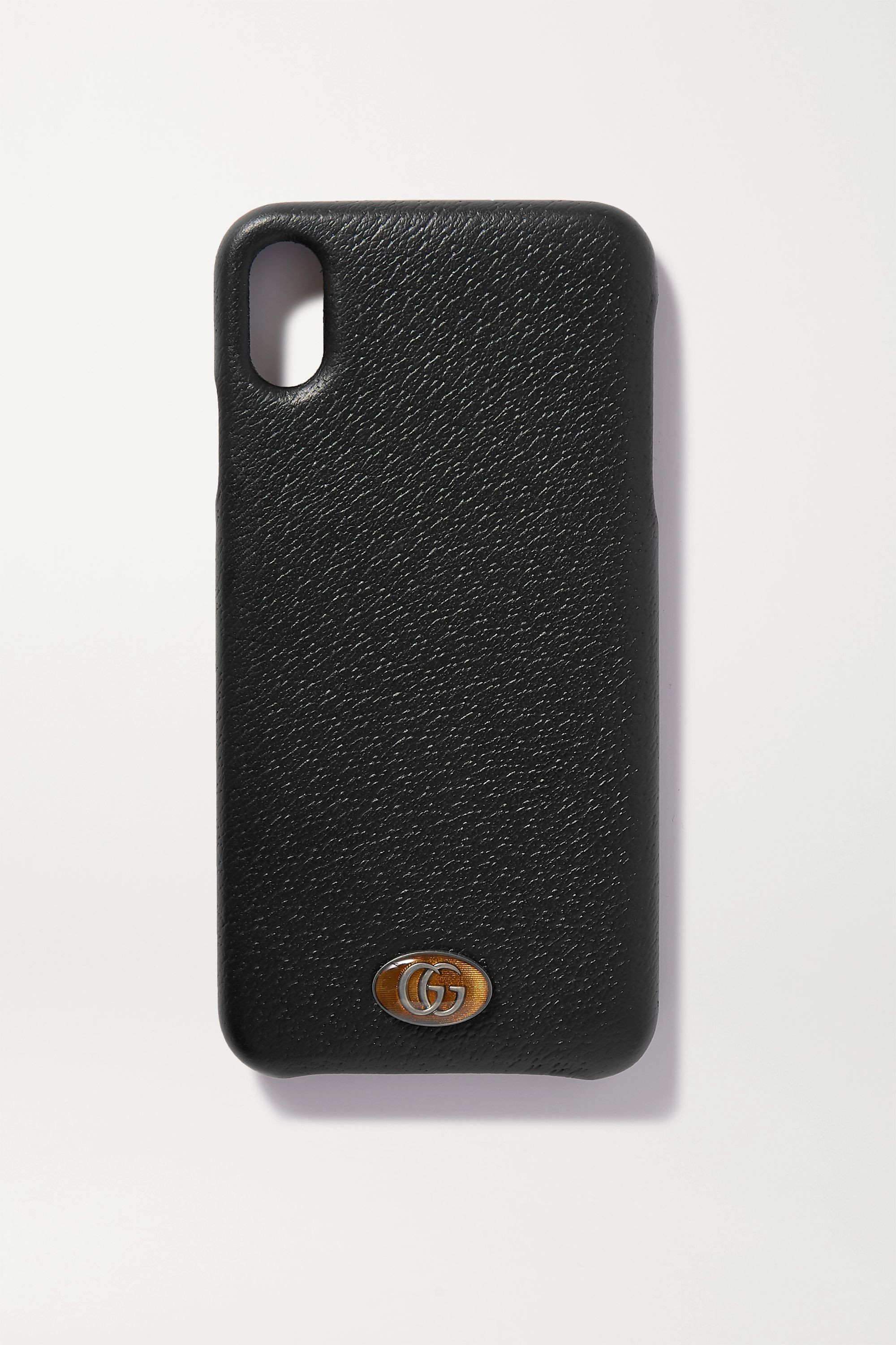 Gucci Embellished textured-leather iPhone XS Max case