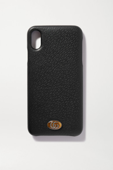 Embellished Textured Leather Iphone Xs Max Case
