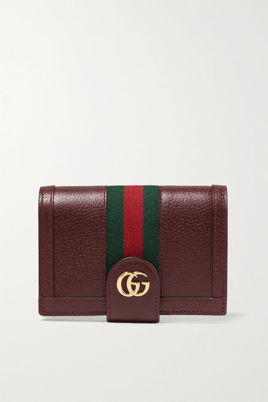 Gucci Textured-leather passport cover