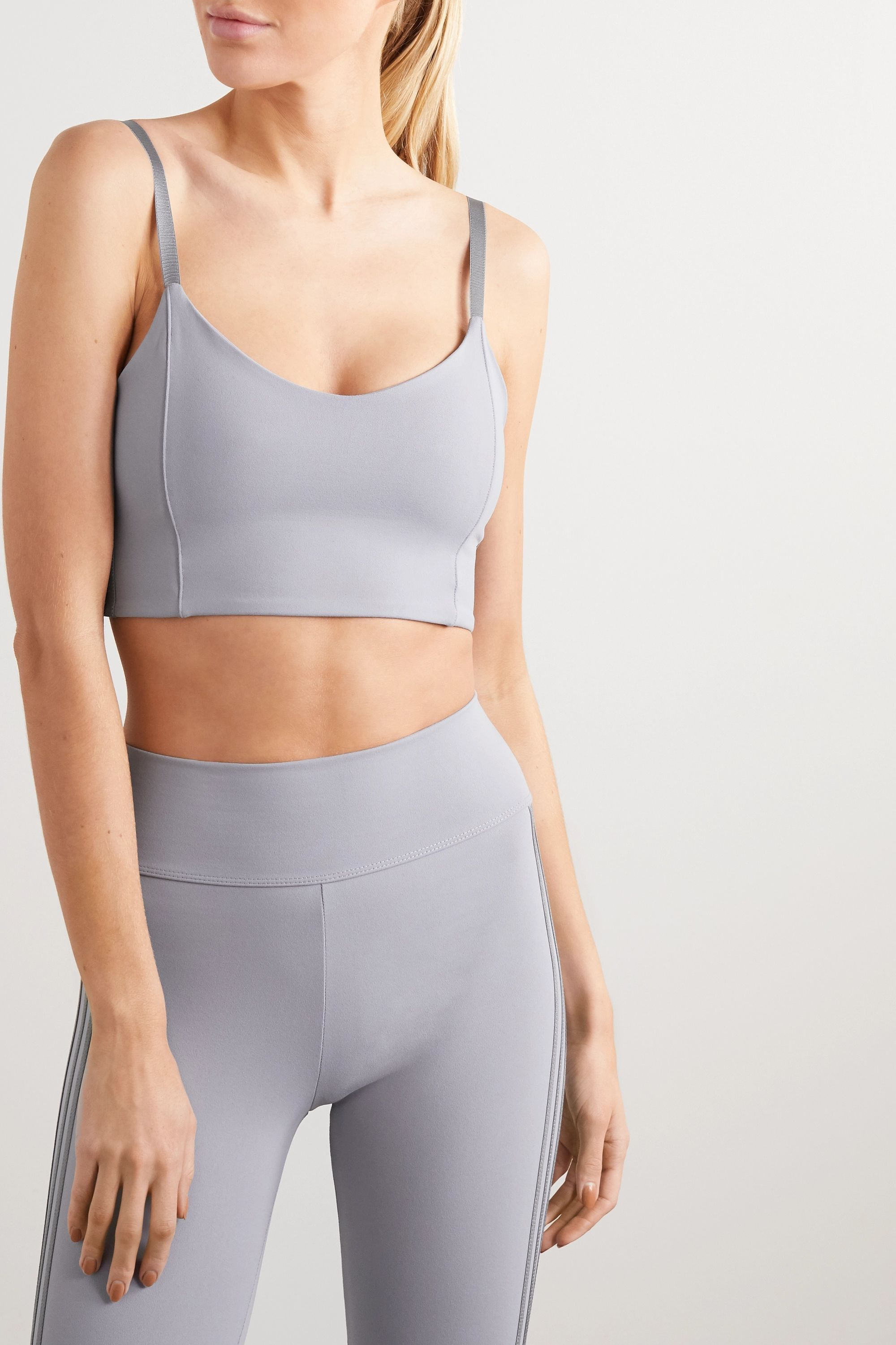 Live The Process Zen stretch-Supplex sports bra