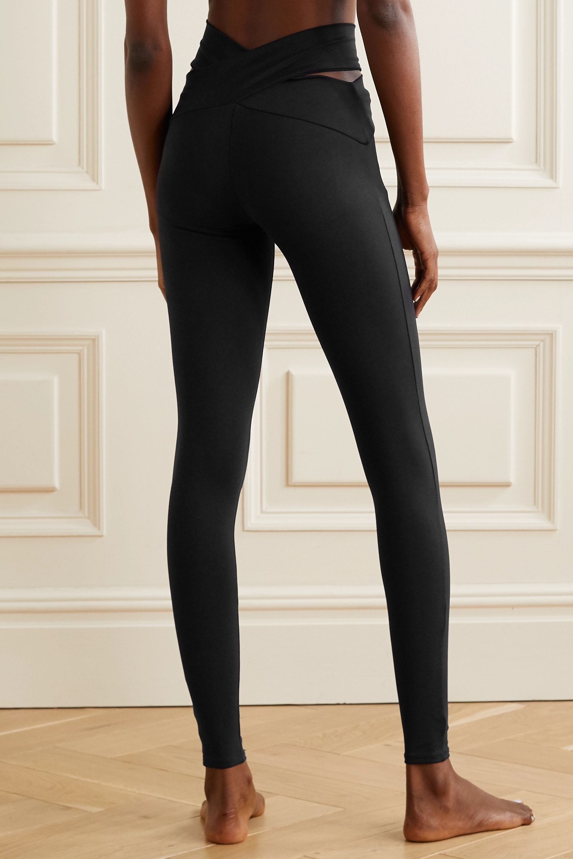 Live The Process Orion Leggings aus Stretch-Supplex® mit Cut-outs