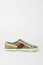 Gucci + Disney printed canvas sneakers