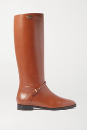 Gucci Rosie logo-embellished leather knee boots
