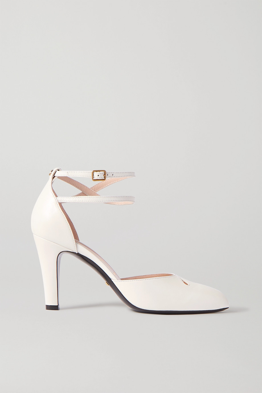 Gucci Indya cutout leather pumps