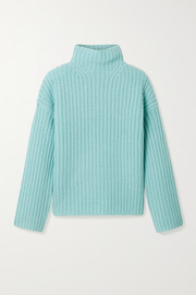 Vince Ribbed-knit turtleneck sweater