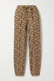 TWENTY Montréal Hyper Reality cotton-blend jacquard-knit track pants