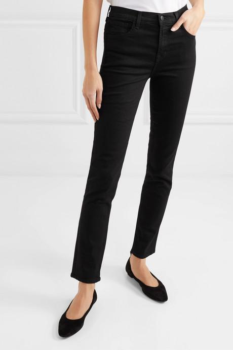 "Photo Ready Ruby 30"" high-rise slim-leg jeans"