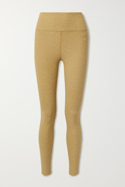 TWENTY Montréal Roaming Giraffe stretch jacquard-knit leggings