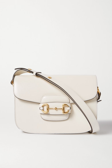 Morsetto Medium Textured Leather Shoulder Bag by Gucci