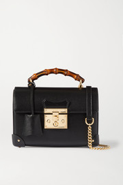 Gucci Padlock small textured-leather tote