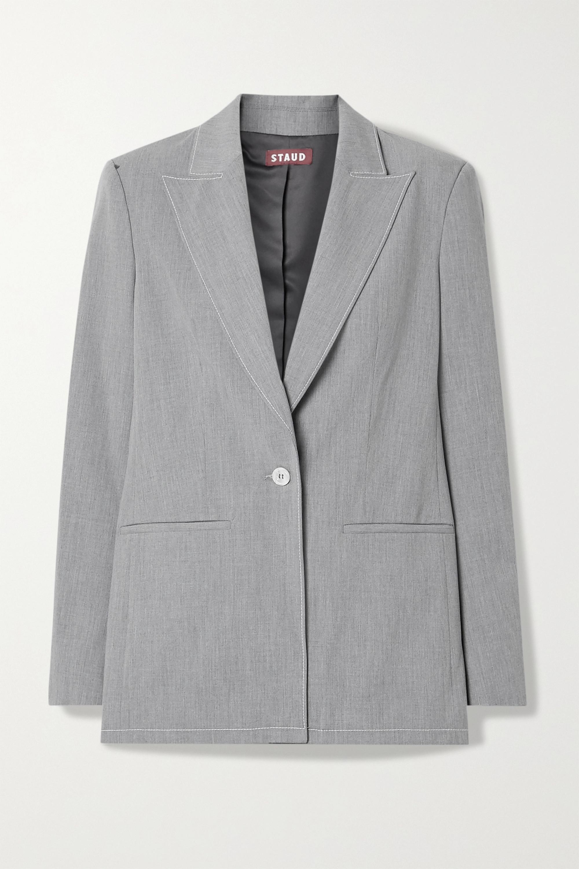 STAUD Ren woven blazer