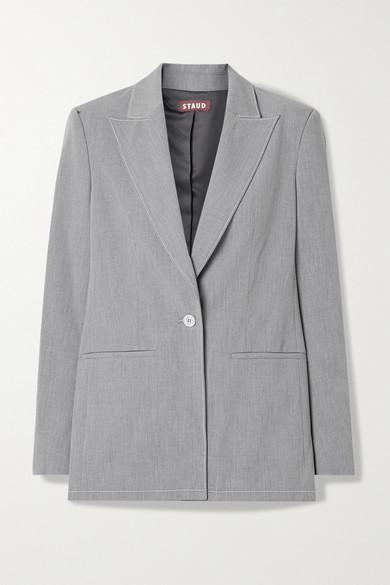 Grey Woven Blazer