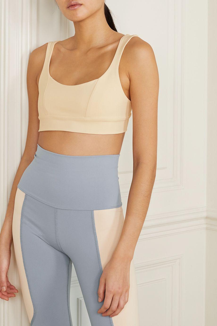 Live The Process Aura stretch-Supplex sports bra