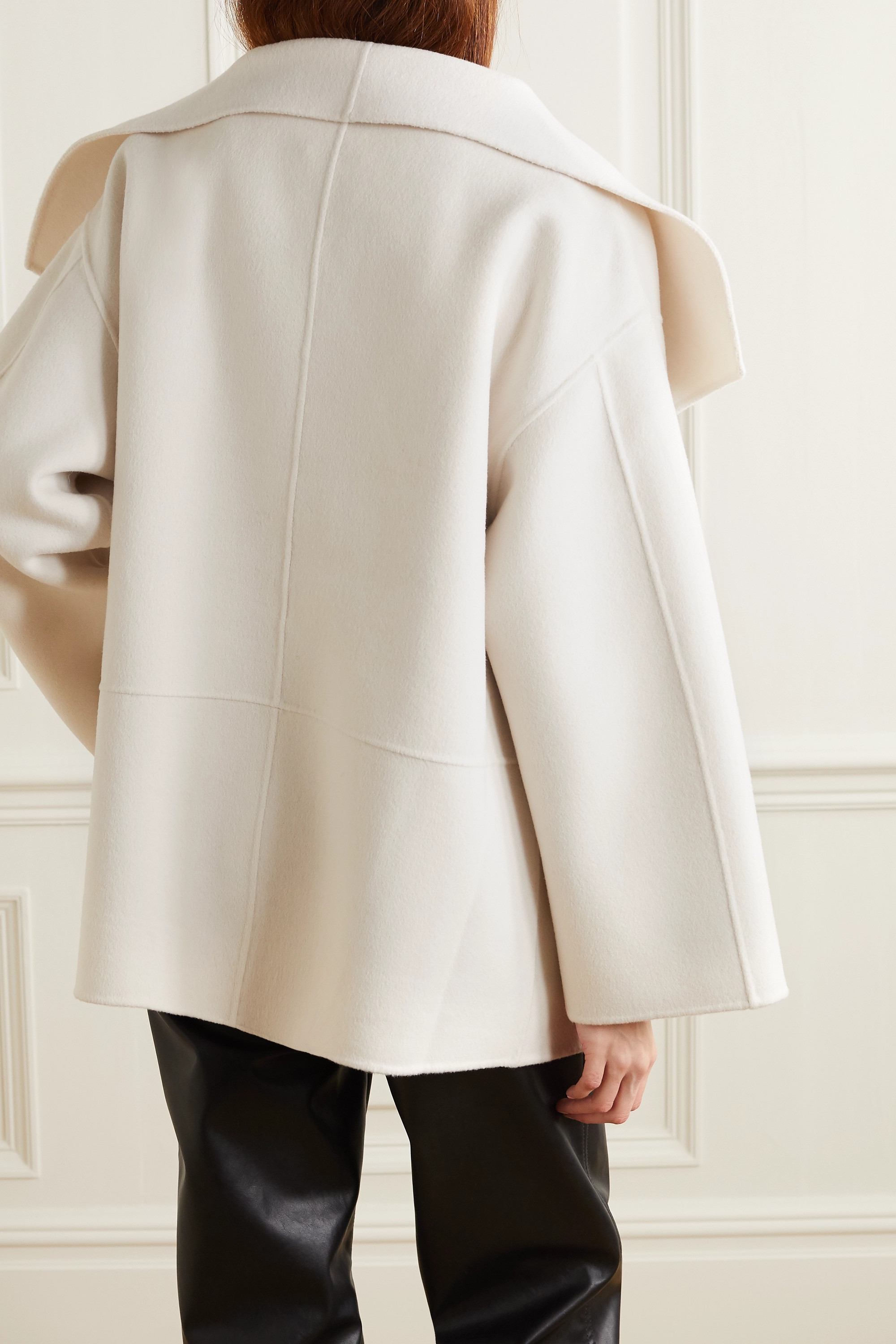 Totême Annecy wool and cashmere-blend jacket