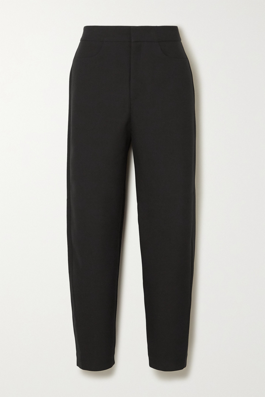 Totême Novara cropped drill straight-leg pants