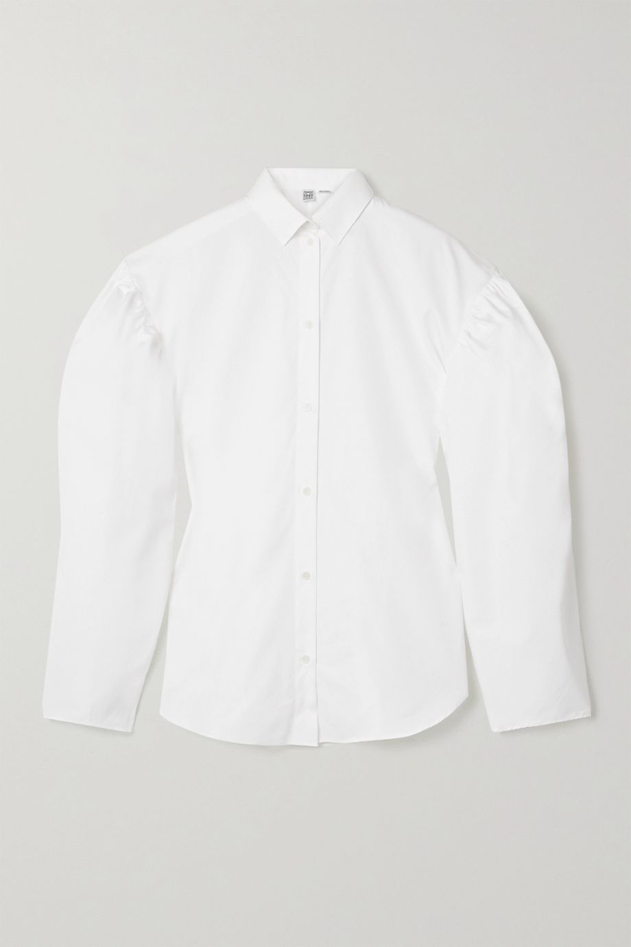 Totême Zonza cotton-poplin shirt