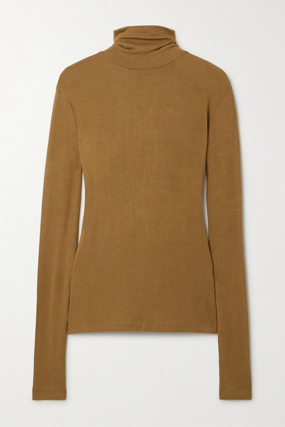 Totême Arenzano stretch-knit turtleneck sweater