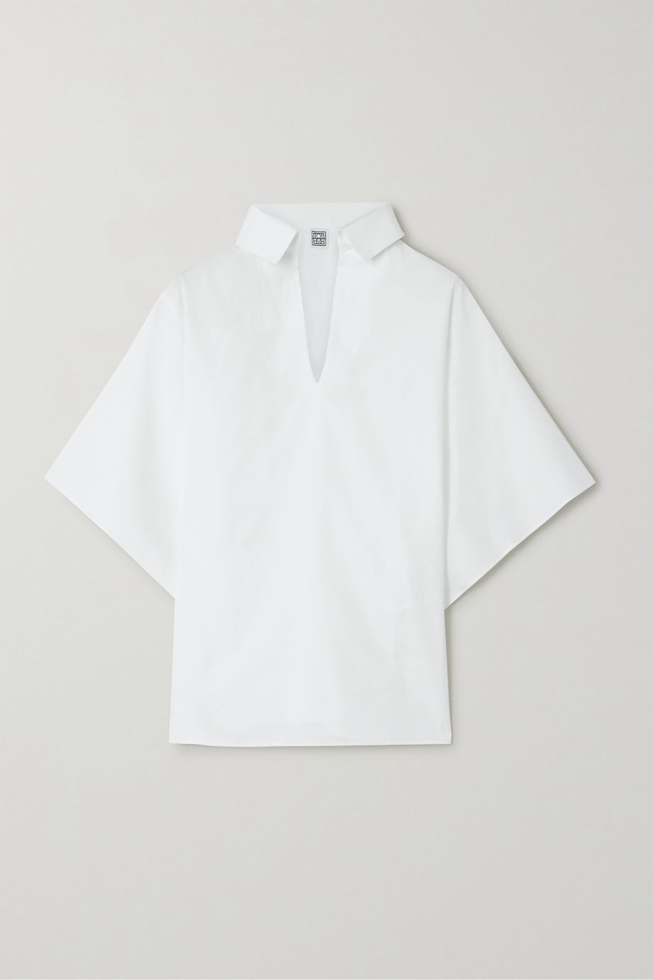 Totême Liry cotton-poplin shirt