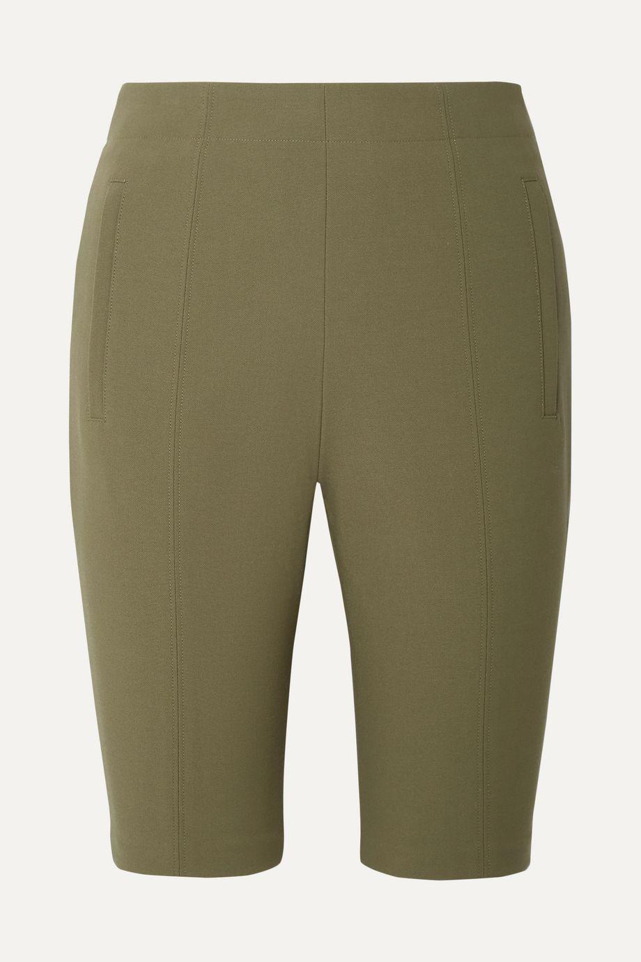 Tibi Anson ponte shorts