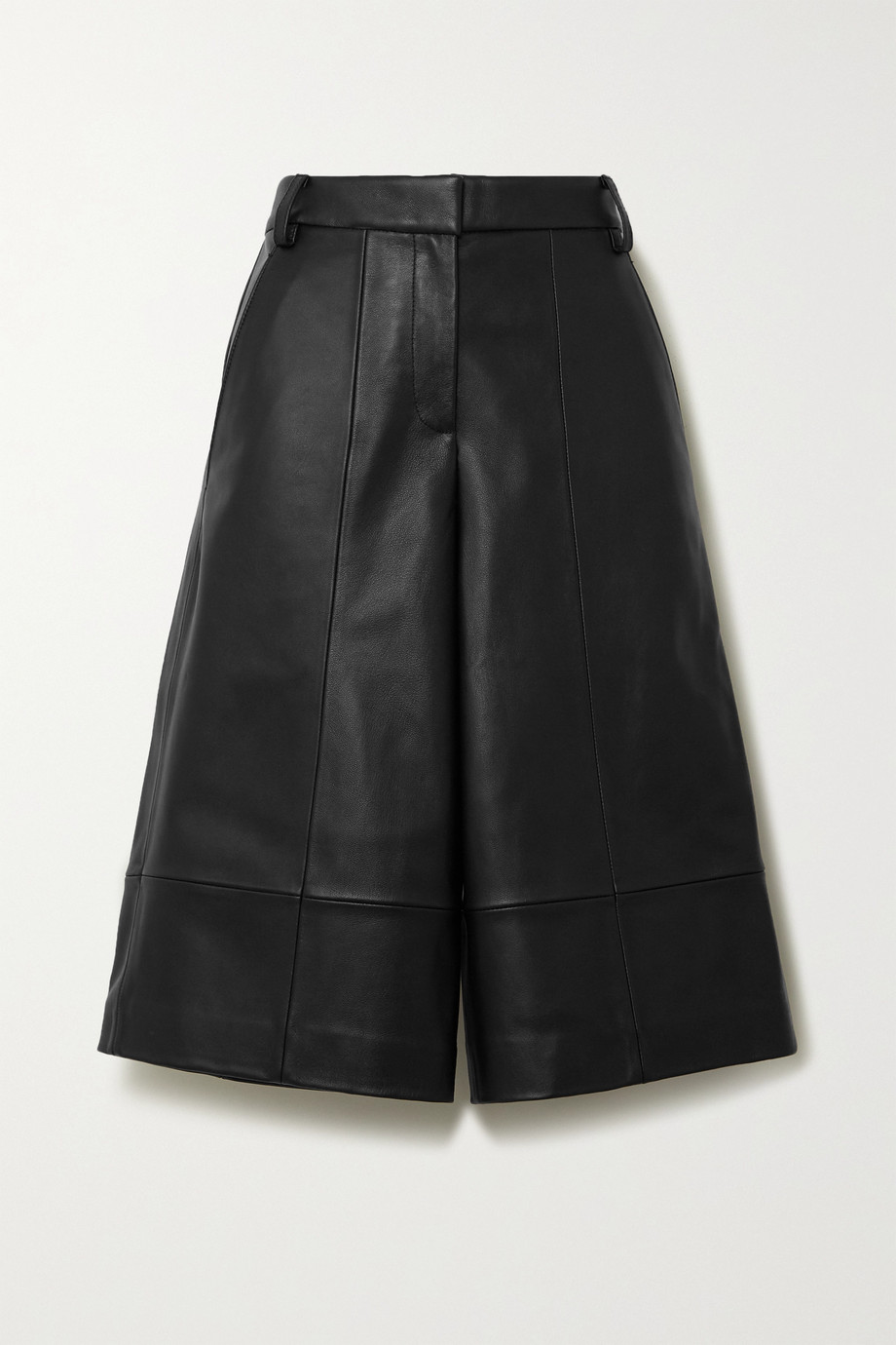 Tibi Leather shorts