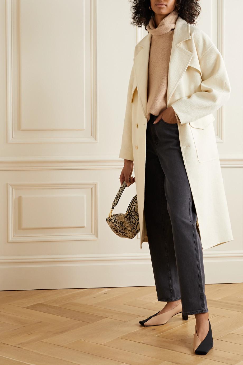 Tibi Oversized tweed coat