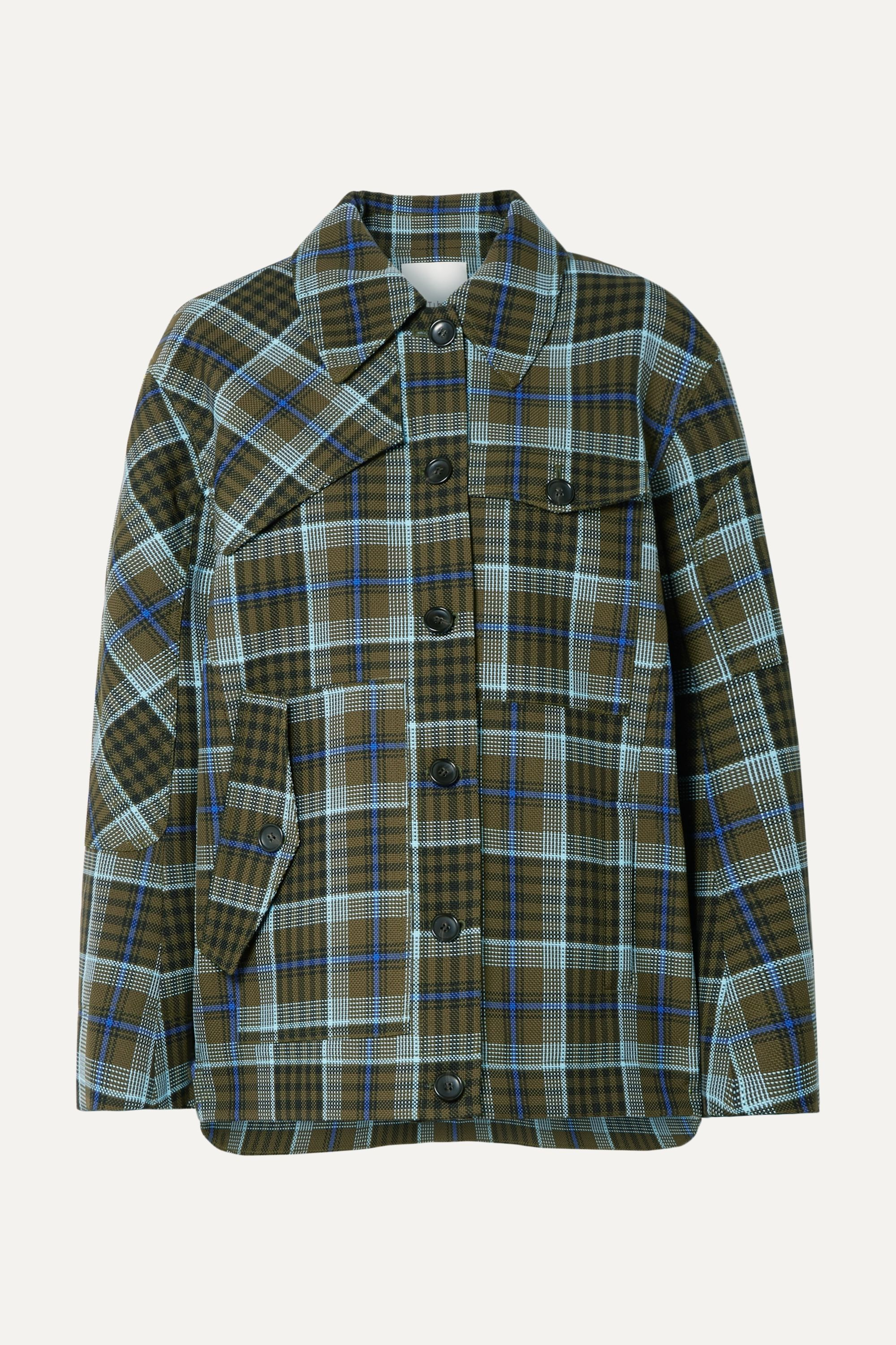 Spencer checked woven jacket