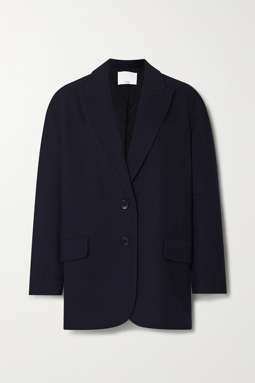 Liam oversized wool-blend felt blazer