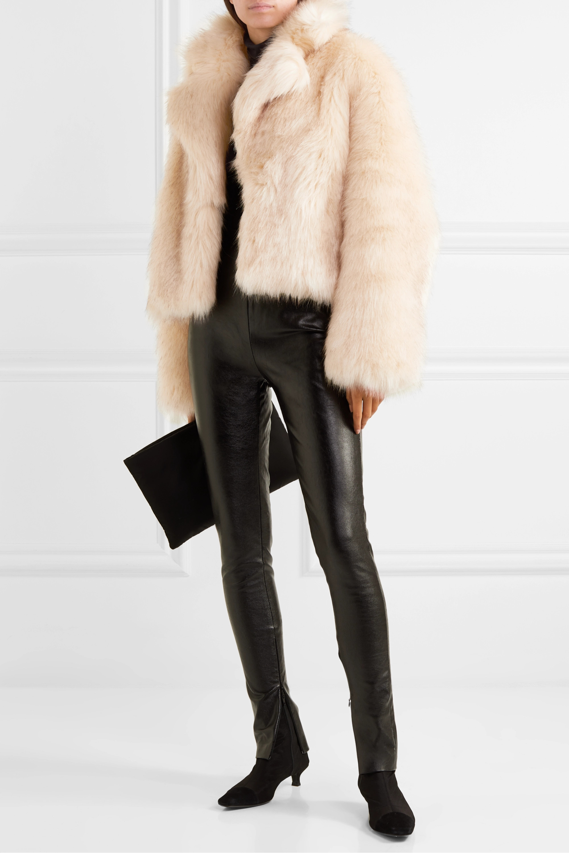 Stand Studio + Pernille Teisbaek Janet faux fur jacket