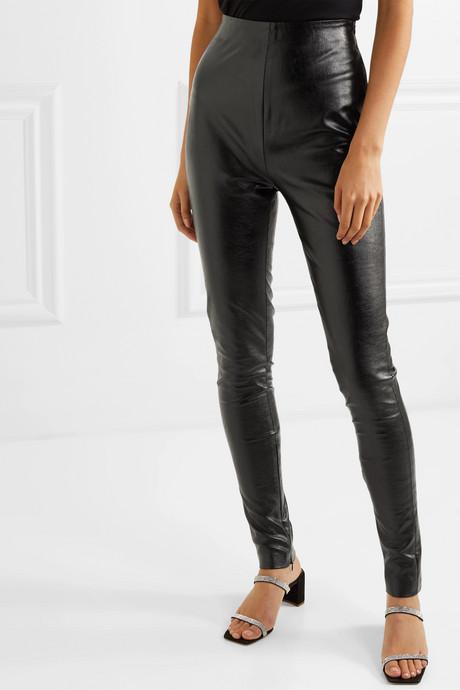+ Pernille Teisbaek Tabitha faux leather skinny pants