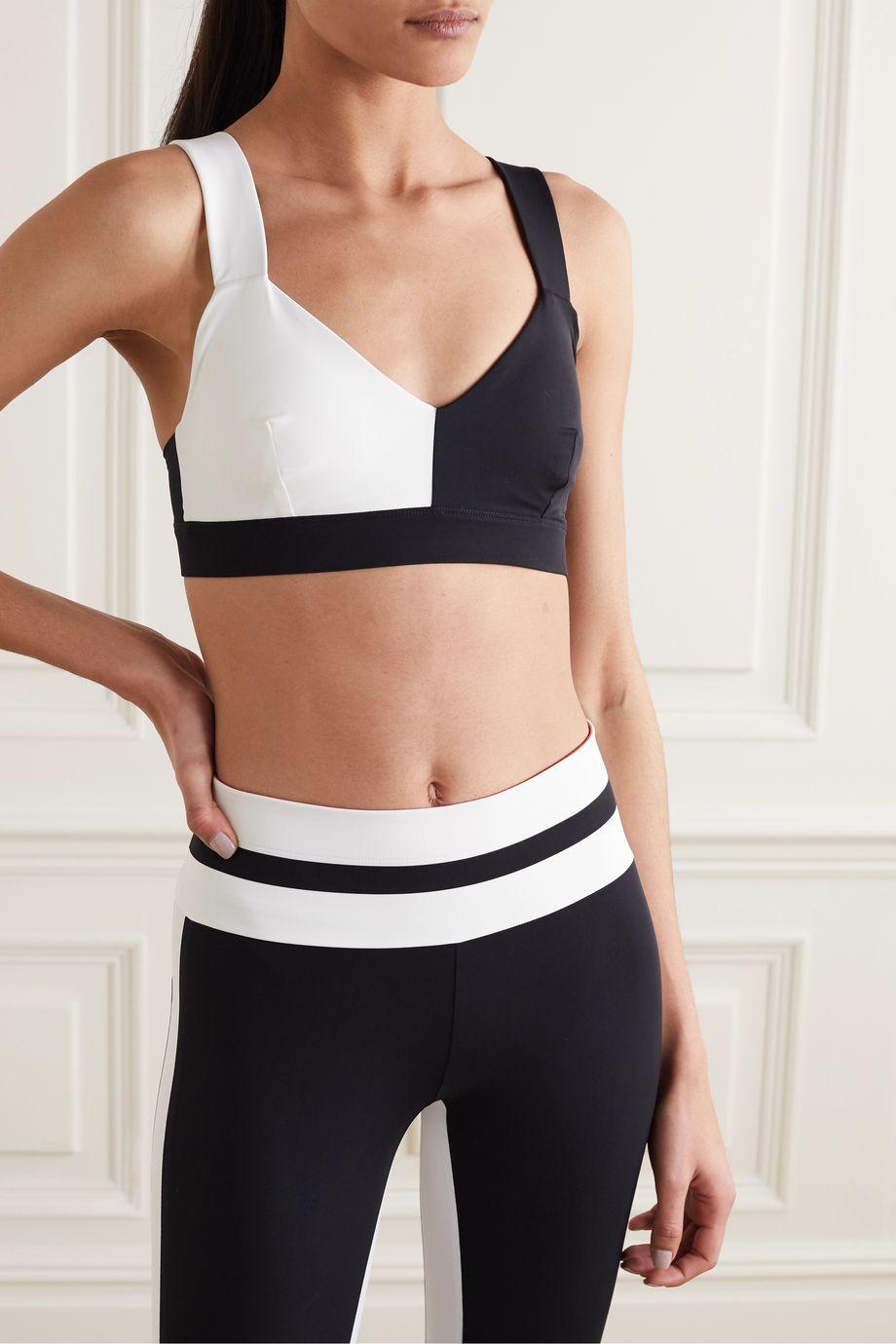 Vaara Elsa two-tone stretch sports bra