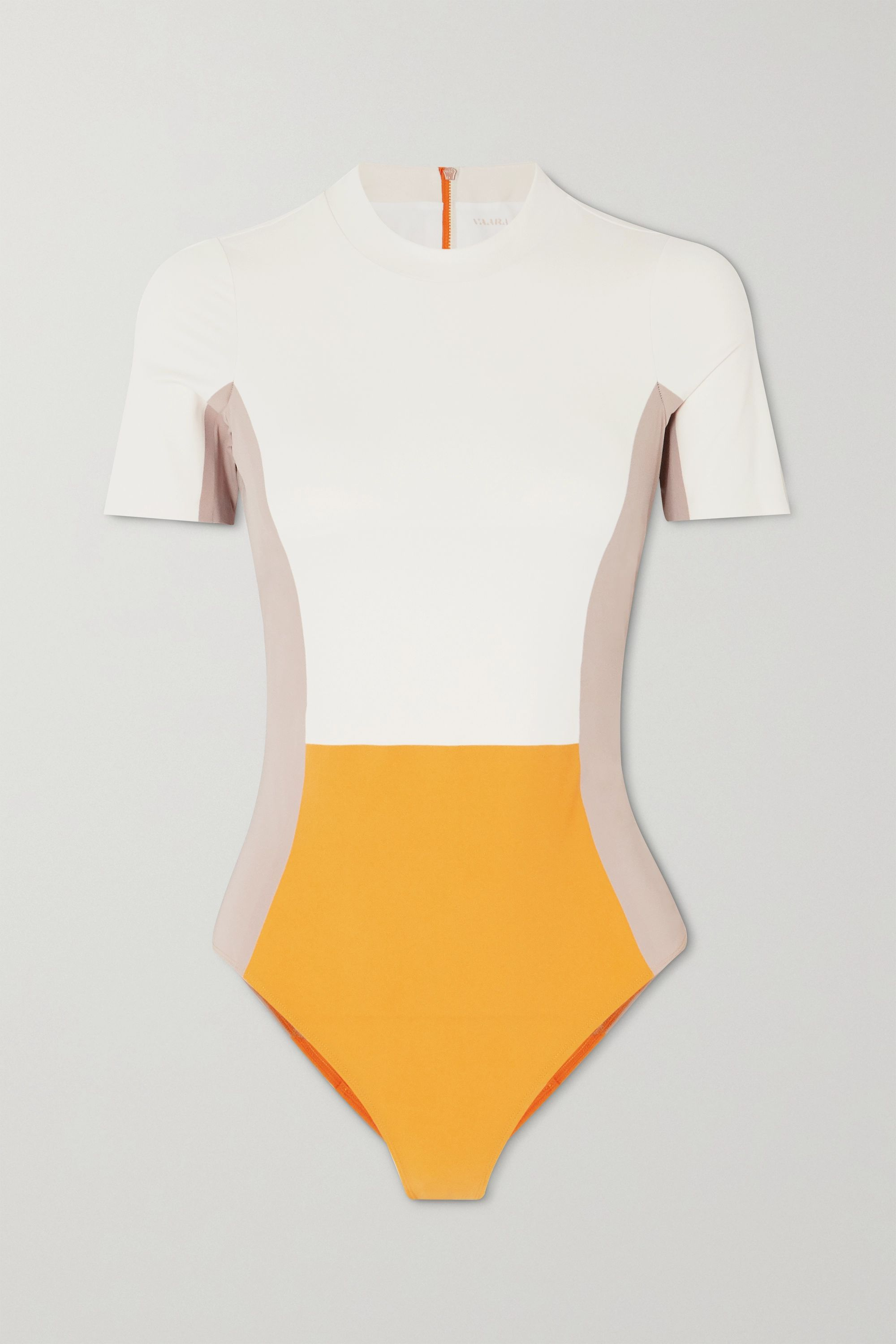 Vaara Cheyenne color-block swimsuit