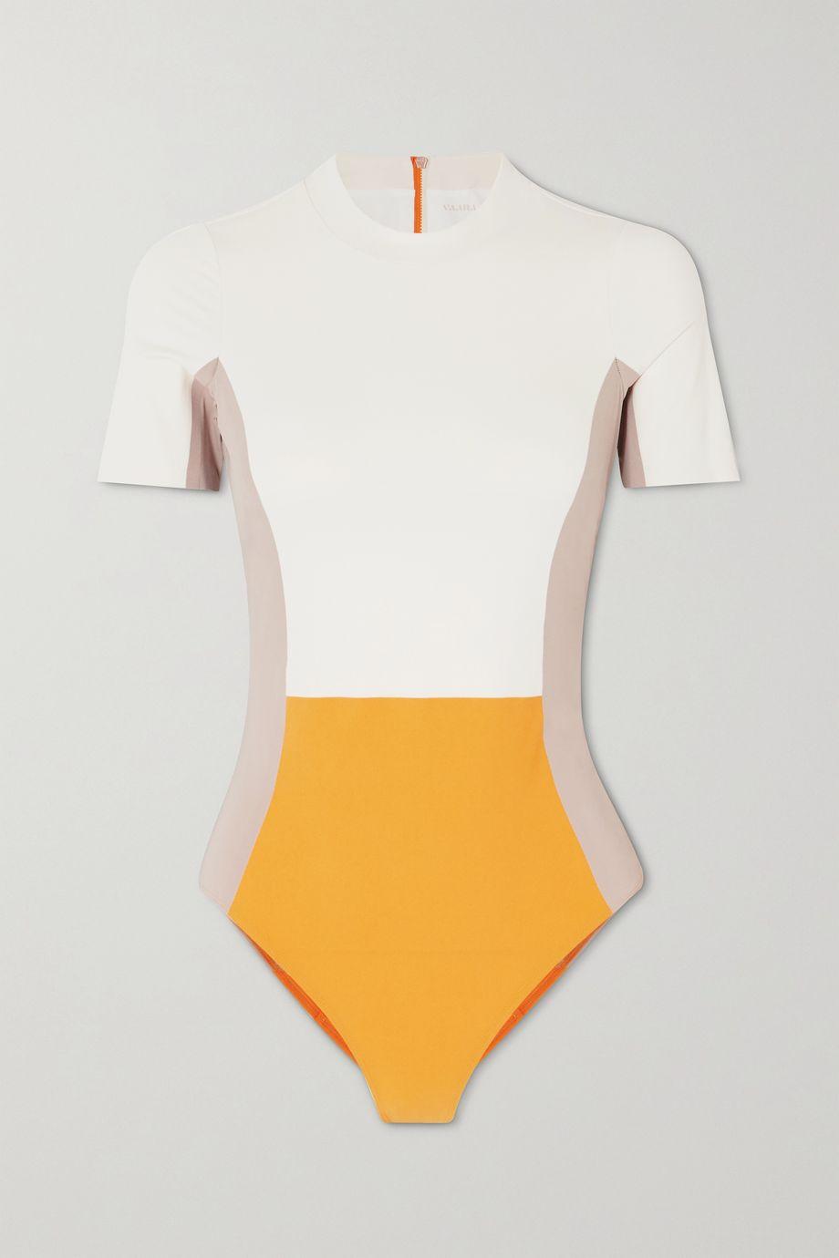 Vaara Cheyenne color-block swimsuit