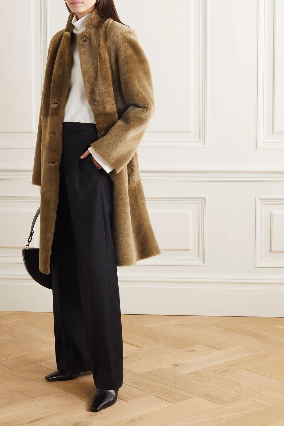 Joseph Brittany reversible shearling coat
