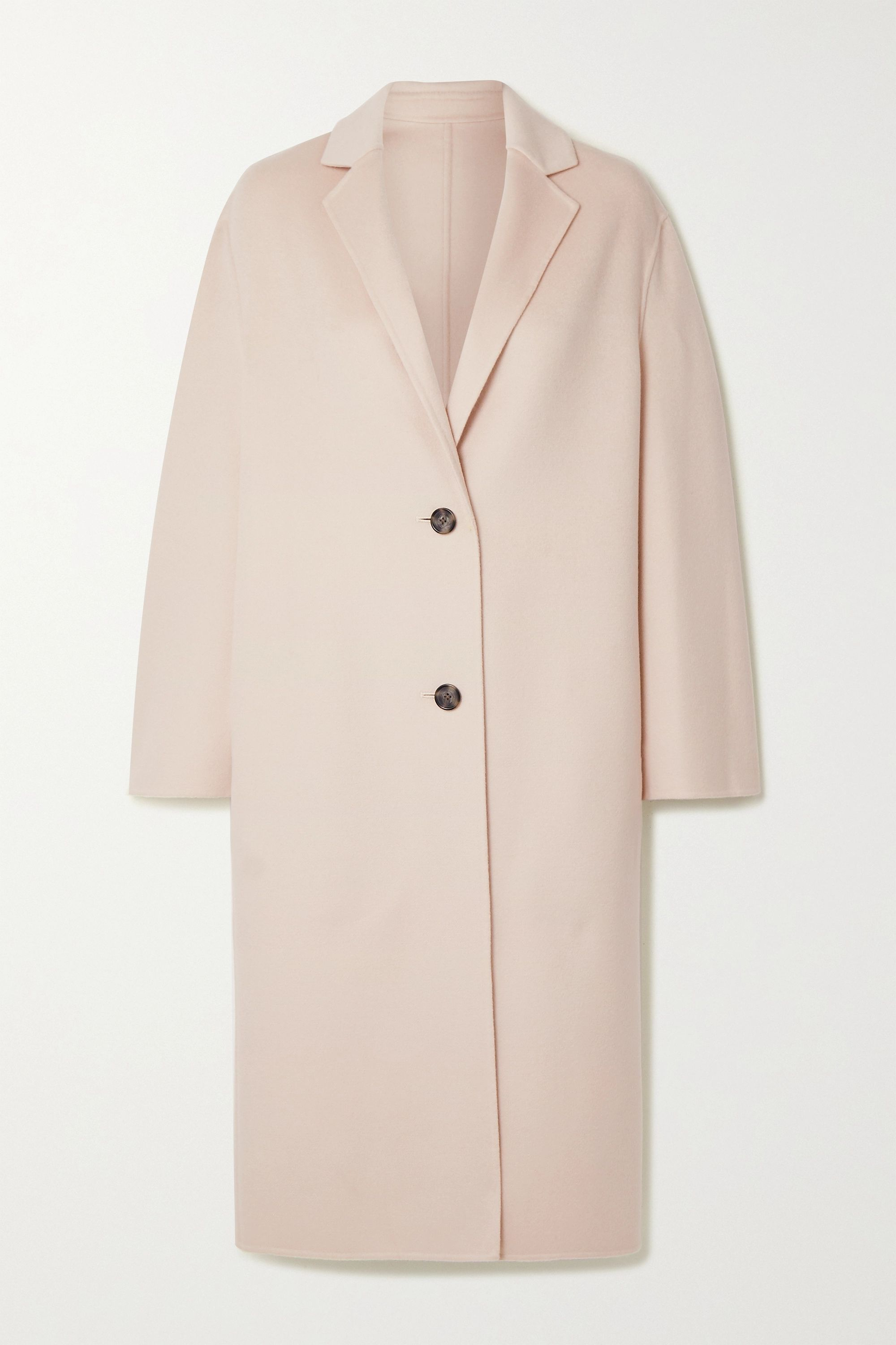 Newman wool and cashmere-blend coat