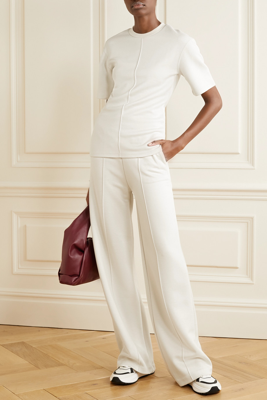 Joseph Stretch-jersey wide-leg pants