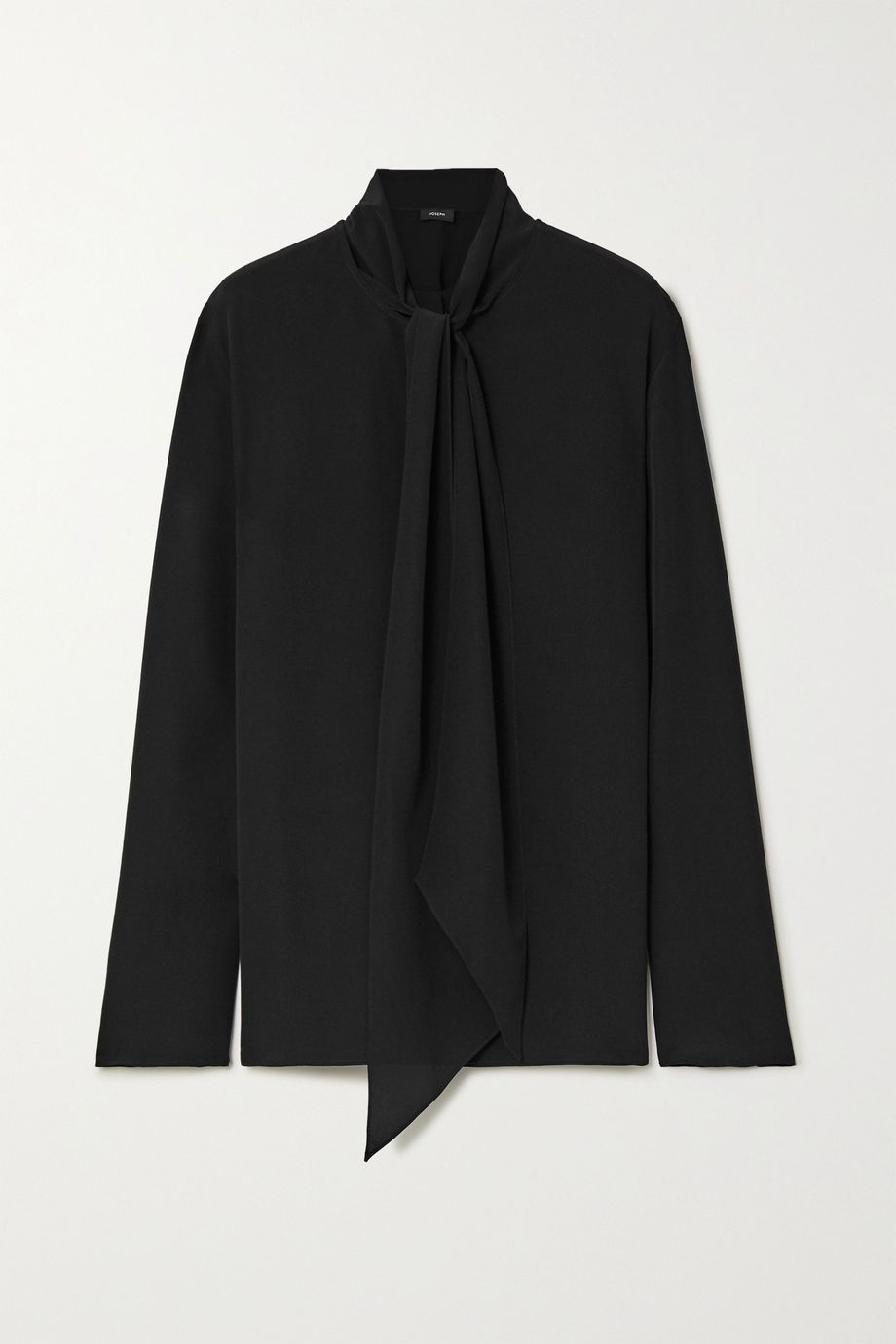 Joseph Branca pussy-bow silk crepe de chine blouse